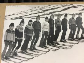 Þessi er frá skíðasvæðinu í Hólshyrnu bara hluti árgangar 1962 og 1963